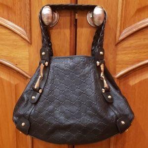 Gucci Pelham Leather Shoulder Bag